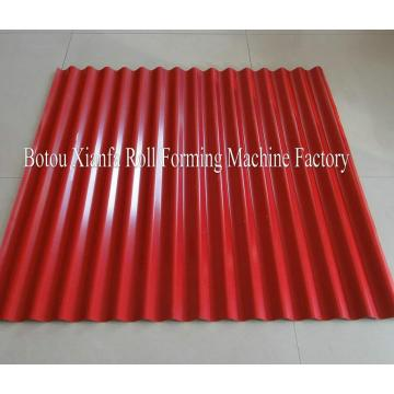 Ibr And Corrugated Roof Sheet Double Deck Machine