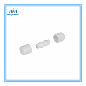 Three Piece Dowel Connector for Furniture