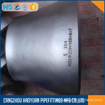 A234WPB ASME B16.9 Stainless Eccentric reducer
