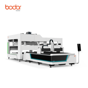 Automatic exchange platforms laser cutter