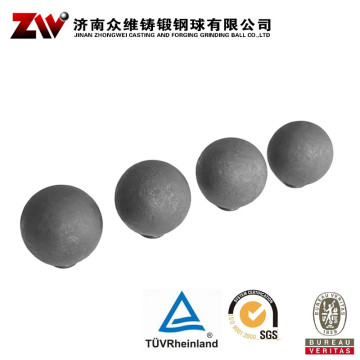 Forged steel grinding balls for copper mining