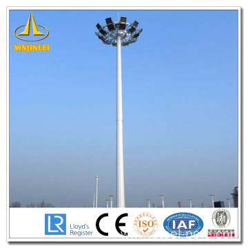 Good Quality for High Mast pole for stadium 30m Stadium High Mast Light Pole supply to Pakistan Supplier
