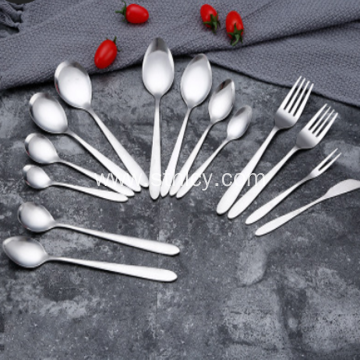 Stainless Steel Tableware Set for Household Use