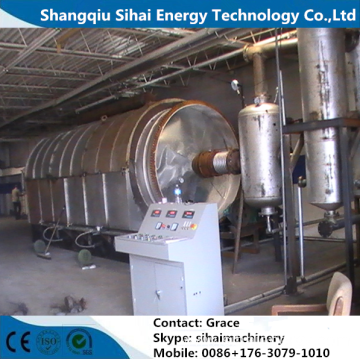 Tyre Oil Refining Equipment With High Output
