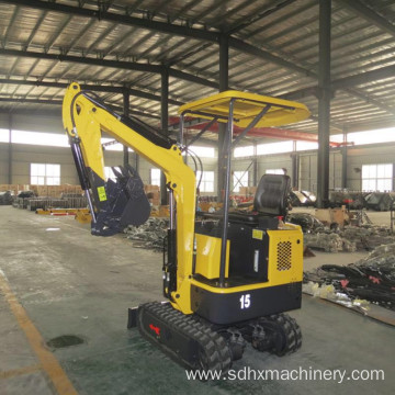 wheel crawler cheap mini excavator