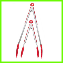 Durable Good Quality Stainless-steel Locking Food Tongs