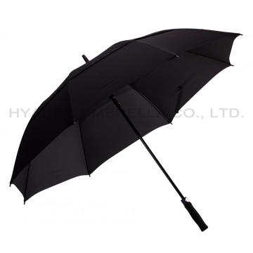 "60"" Windproof Double Canopy Auto Open Golf Umbrella"