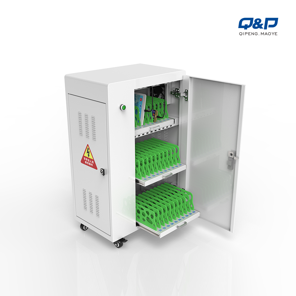 laptop charging cart on wheels