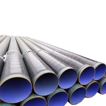 Externally galvanized plastic coated steel pipe