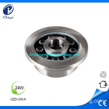 24W IP68 stainless led fountain light underwater