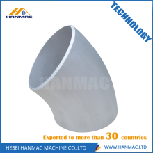 High Quality for 90 Degree SR/LR Aluminum Elbow 6060T6 aluminum alloy elbow export to Ecuador Manufacturer