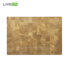 Thick Wood Cutting Board End Grain Rubber Wood