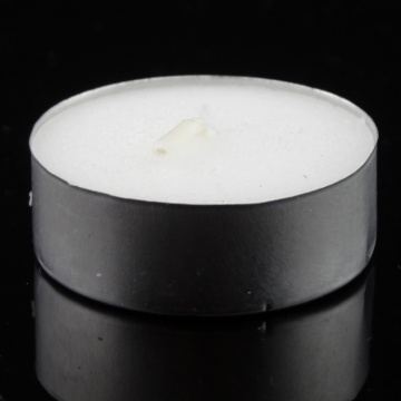 White Unscented Travel Tea Candles - Pressed Wax