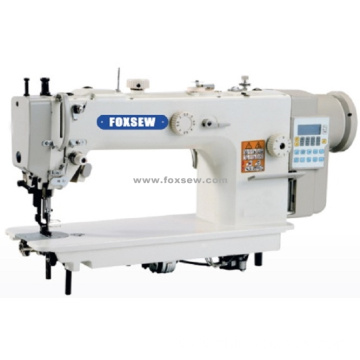 Direct Drive Long Arm Top and Bottom Feed Lockstitch Machine with Automatic Thread Trimmer