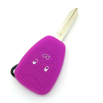 Jeep 3 buttons embossed silicone key cover