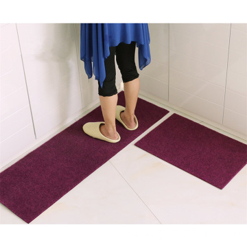 Effective absorb water embroidered polyester kitchen mats