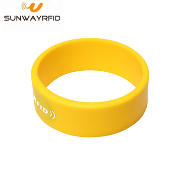 Mifare Classic S70 Rfid Silicone Wristband for Payment
