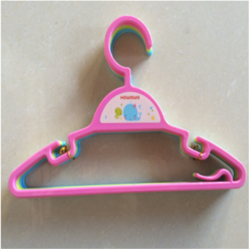 Plastic Baby Accessory Clothes Rack Coat Hanger Set