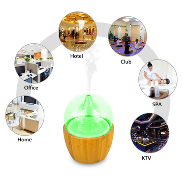 High Quality Elegant Effective Wood Glass Aroma Diffuser