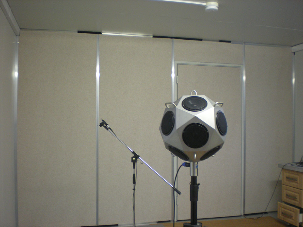 Acoustic test for MT Series Tank Container Type