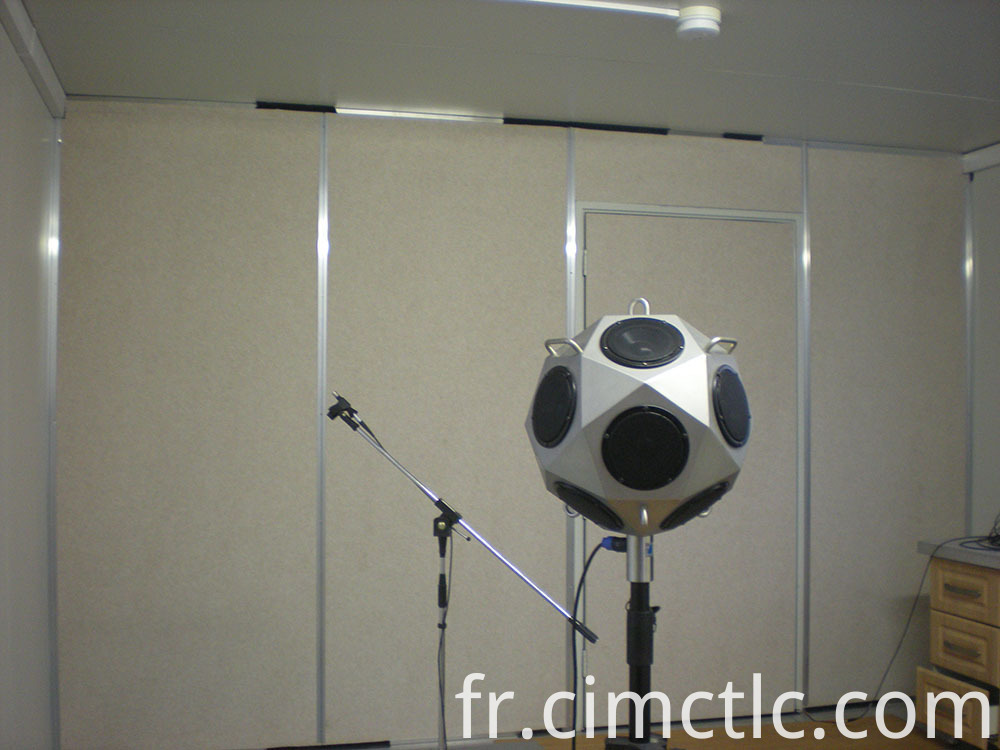Acoustic test for Prefab Equipment Containerized Integration