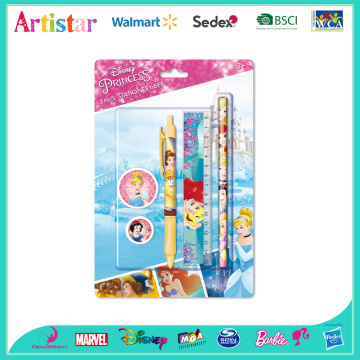 Disney Princess 5 piece stationery set