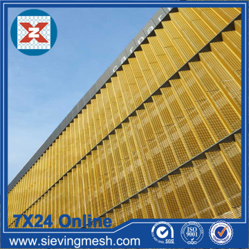 Expanded Metal Facade Cladding