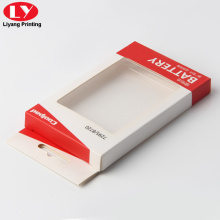 Moile phone case display window packaging box