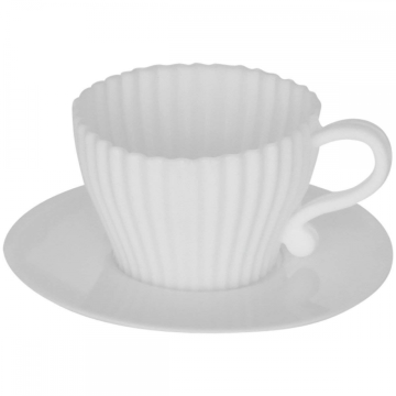 Special Design for for Silicone Muffin Cups Food Grade Silicone Cup Cake Molds With Saucer export to Syrian Arab Republic Factory