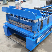 Metal roof making machine