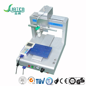 Automatic silicone glue doming machine