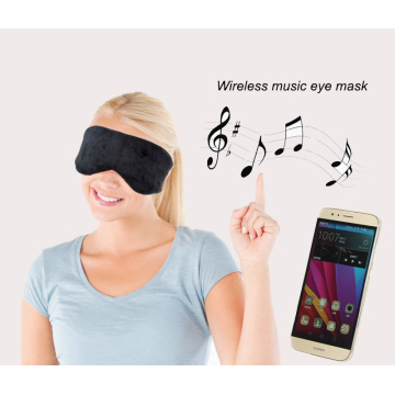 Hot sale reasonable price for Sleep Mask With Bluetooth Headphones Custom color wireless leisure light block eyemask supply to China Hong Kong Supplier