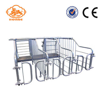 Customized Tube Galvanized Gestation Crates For Pigs