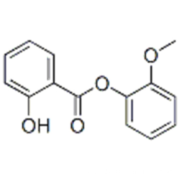 2-methoxyphenyl salicylate CAS 87-16-1