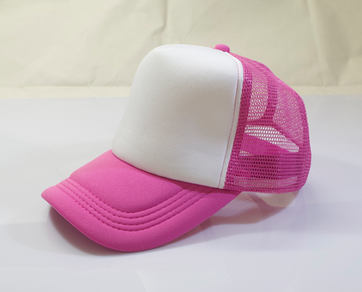 Summer Plain Cap Pink