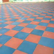 Kids Play Area Rubber Flooring Tiles