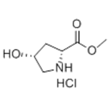 D-Proline, 4-hydroxy-,methyl ester, hydrochloride (1:1),( 57356136, 57251876,4R)- CAS 114676-59-4