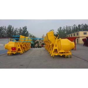 Mixer tank machine of construction