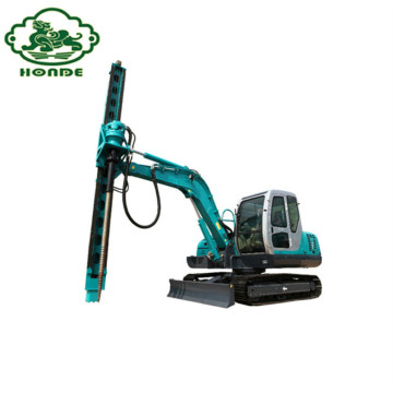 Hydraulic Pile Driver Machine