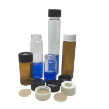 30ML Glass Vial with Screw and Black Cap