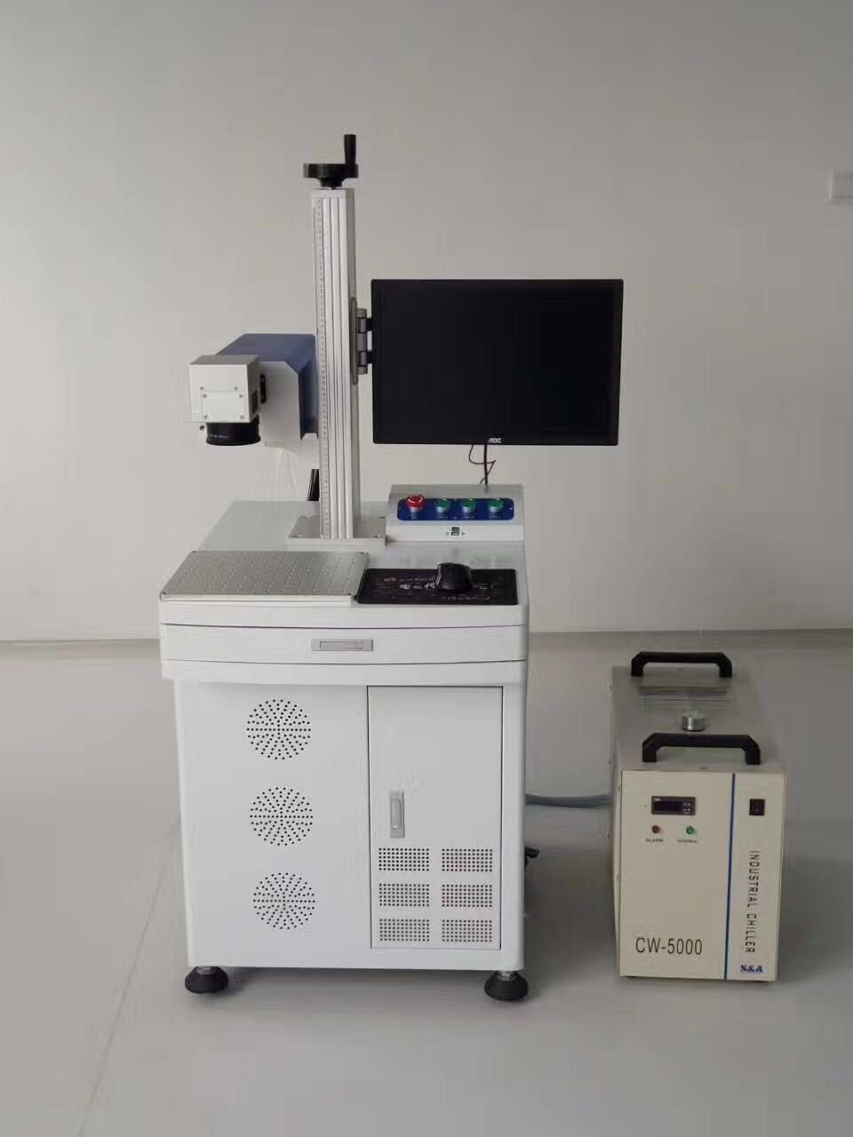 Our New Equipment - Laser marking machine