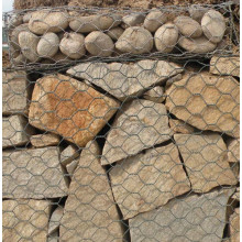 Discountable price for Woven Gabion Baskets Heavy Type Hexagonal Mesh Stone Box export to Benin Manufacturer