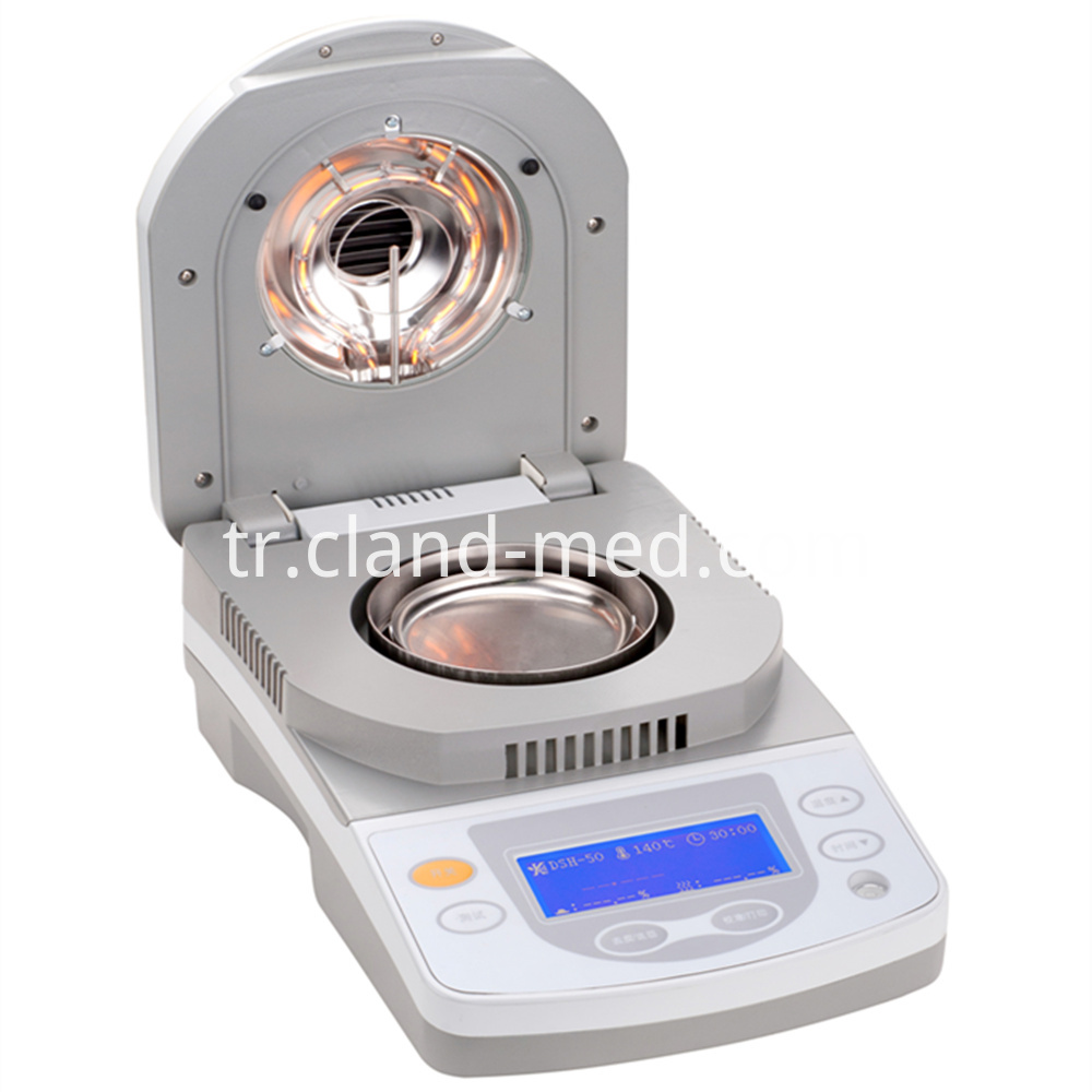 Dsh Halogen Drying Method Moisture Analyzer 1