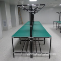 Assembly Table with Lean Pipe Frame