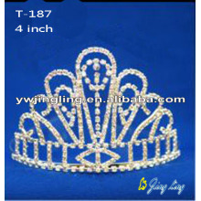 2018 Jingling 4 Inch Crown Wedding Tiara