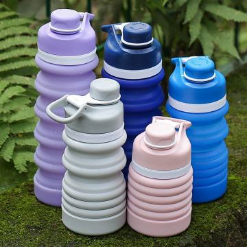 Silicone Collapsible Water Bottle BPA Free