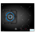 Gas On Glass Induction Hob On 60 cm