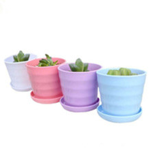 China for Custom Industrial Plastic Products,Plastic Injection Parts,Prototype Plastic Parts Manufacturers and Suppliers in China Hot Sale Colorful Plastic Flower Pot Holder supply to Latvia Exporter