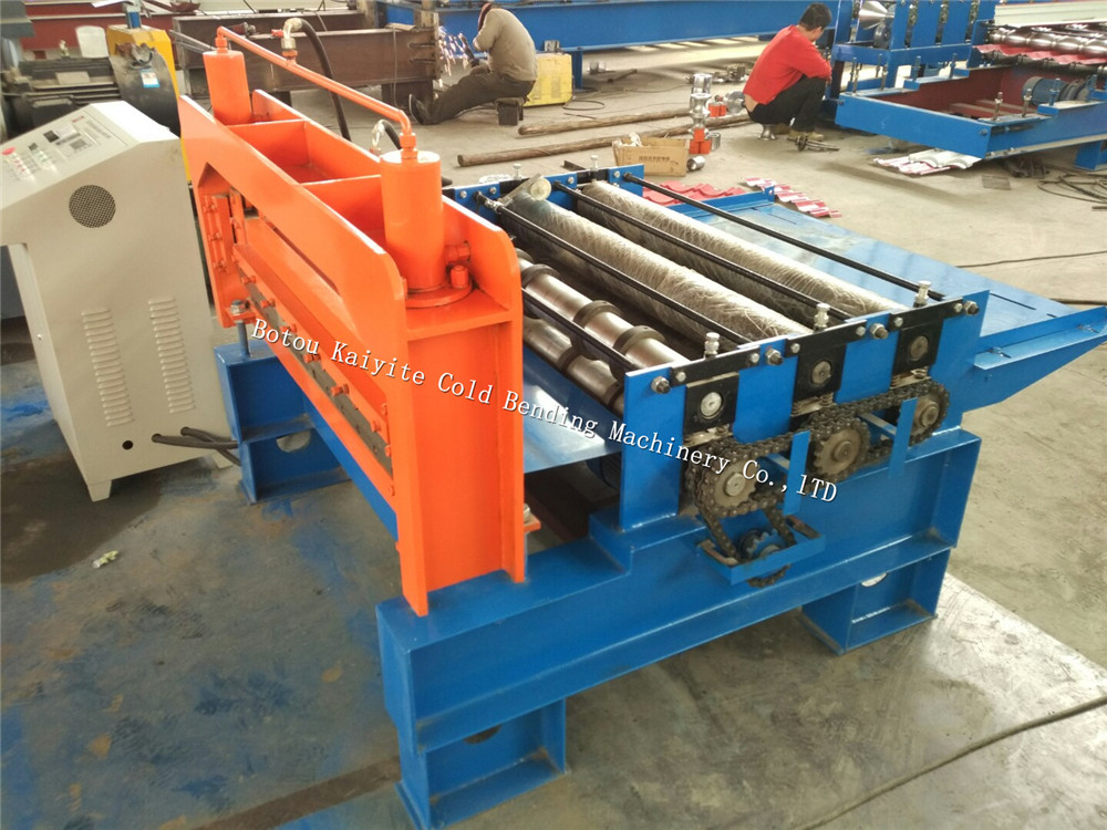 Stainless steel coil slitting machine