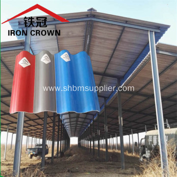 Cheap Soundproof Heat-insulating MgO Roofing Sheets